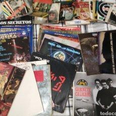 Discos de vinilo: LOTE DE 75 DISCOS VINILO POLICE, ROLLING STONES, LOS SECRETOS ETC. Lote 279449098