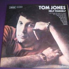 Discos de vinilo: TOM JONES – HELP YOURSELF - LP DECCA 1969 - POP ROCK CROONER 60'S 70'S - EDICION ESPAÑOLA ORIGINAL. Lote 279454558