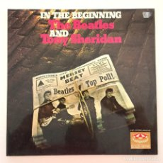 Discos de vinilo: THE BEATLES AND TONY SHERIDAN – IN THE BEGINNING 2 VINYLS GERMANY KARUSSELL. Lote 279454973