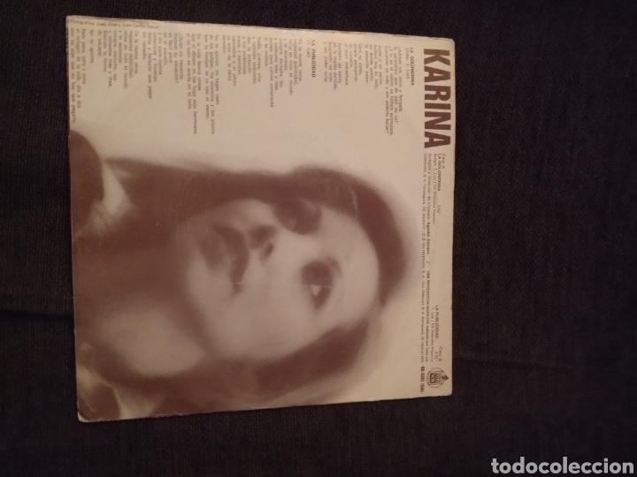 Discos de vinilo: Single de Karina. La golondrina / La publicidad. Edición Hispavox de 1975 - Foto 2 - 279456258