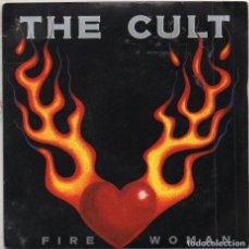 Discos de vinilo: THE CULT - FIRE WOMAN / SINGLE BOG ROCK DE 1989 / BUEN ESTADO RF-4977. Lote 279457333