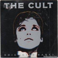 Discos de vinilo: THE CULT - EDIE CIAO BABY / SINGLE DE 1989 / MADE IN ENGLAND / BUEN ESTADO RF-4978. Lote 279457448