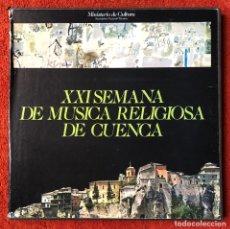Discos de vinilo: XXL SEMANA DE MÚSICA RELIGIOSA DE 1982 CAJA CON 3 DISCOS. Lote 279458293