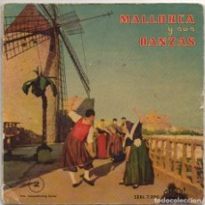 Discos de vinilo: MALLORCA Y SUS DANZAS. SERIE NUMERO 2 / EP REGAL DE 1959 / PORTADA DOBLE RF-4985. Lote 279458398