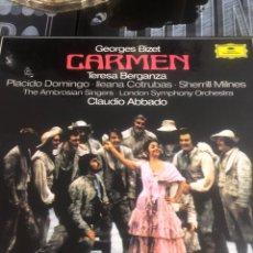 Discos de vinilo: VINILO CARME PLACIDO DOMINGO. Lote 279459088
