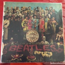 """Discos de vinilo: BEATLES """"SGT PEPPERS LONELY HEARTS CLUB BAND"""", LP EDICIÓN ESPAÑOLA STEREO 1967. Lote 279463608"""