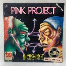Discos de vinilo: LP - VINILO PINK PROJECT - B. PROJECT - ITALIA - AÑO 1983. Lote 279463923