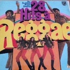 Discos de vinilo: REGGAE 28 HITS A LP SPAIN. Lote 279467048