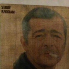 Discos de vinilo: SERGE REGGIANI. POLYDOR FRANCE. Lote 279341933