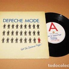 Discos de vinilo: DEPECHE MODE - GET THE BALANCE RIGHT! - SINGLE - 1983. Lote 279472813