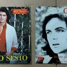 """Discos de vinilo: 2 DISCOS VINILO DE 7""""DE CAMILO SESTO. Lote 279474653"""