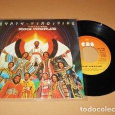 Discos de vinilo: EARTH WIND AND FIRE - BOOGIE WONDERLAND - SINGLE - 1979 - NUEVO. Lote 57499868
