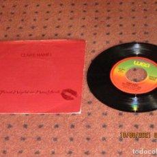 Discos de vinilo: CLAIRE HAMILL - FIRST NIGHT IN NEW YORK - SINGLE - SPAIN - WEA - L -. Lote 279501998