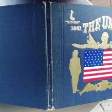 Discos de vinilo: THE UNION-LP LP & BOOK MUSIC OF THE NORTH ORCHESTRA CON LIBRETO TEXTO EN INGLES 1861-1865. Lote 279509403