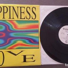 Discos de vinilo: HAPPINESS MAXI SINGLE LOVE (CUATRO VERSIONES) 1994. Lote 279514263