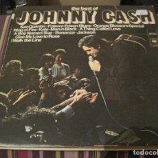 Discos de vinilo: LP JOHNNY CASH THE BEST...COLUMBIA 65846 HOLANDA 1973 COUNTRY. Lote 279515663