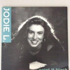 Discos de vinilo: JODIE L. PAINT IT BLACK. Lote 279517033