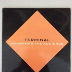 Discos de vinilo: TERMINAL. MAXIMIZING THE AUDIENCE. Lote 279517268