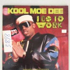Discos de vinilo: KOOL MOE DEE. I GO TO WORK. Lote 279519138