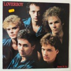 Discos de vinilo: LOVERBOY- KEEP IT UP- SPAIN LP 1983- VINILO COMO NUEVO.. Lote 279549418