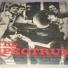 Discos de vinilo: SINGLE THE SPECTRUM - LA CHICA DEL SABADO - SAMANTHA'S MINE - RCA VICTOR 3.10257 - PEDIDO MINIMO 7€. Lote 279554133