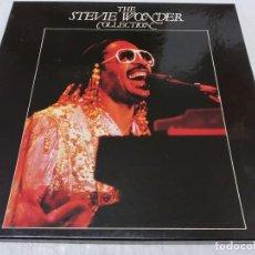 Discos de vinilo: STEVIE WONDER – THE STEVIE WONDER COLLECTION - CAJA CON 4 LPS -EDICION ESPAÑOLA 1982. Lote 279555688