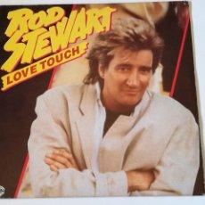 Discos de vinilo: ROD STEWART - LOVE TOUCH - 1986. Lote 279556028