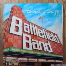 Discos de vinilo: BATTLEFIELD BAND - THERE'S A BUZZ (TEMPLE RECORDS, UK, 1982). Lote 279563568
