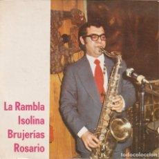 Discos de vinilo: TEMAS DE A.GOMEZ MONTILLA - LA RAMBLA/ISOLINA/BRUJERIAS/ROSARIO (EP 1974 LUYTOM PROMO) LATIN JAZZ. Lote 279566533