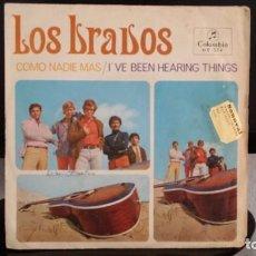 Discos de vinilo: *LOS BRAVOS - COMO NADIE MAS / I'VE BEEN HEARING THINGS - SG AÑO 1967 - LEER DESCRIPCIÓN. Lote 279586043