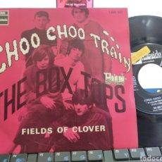 Discos de vinilo: THE BOX TOPS SINGLE CHOO CHOO TRAÍN ESPAÑA 1968 EN PERFECTO ESTADO. Lote 279586843