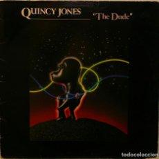 Discos de vinilo: QUINCY JONES THE DUDE LP AM RECORDS 1981. Lote 279591938