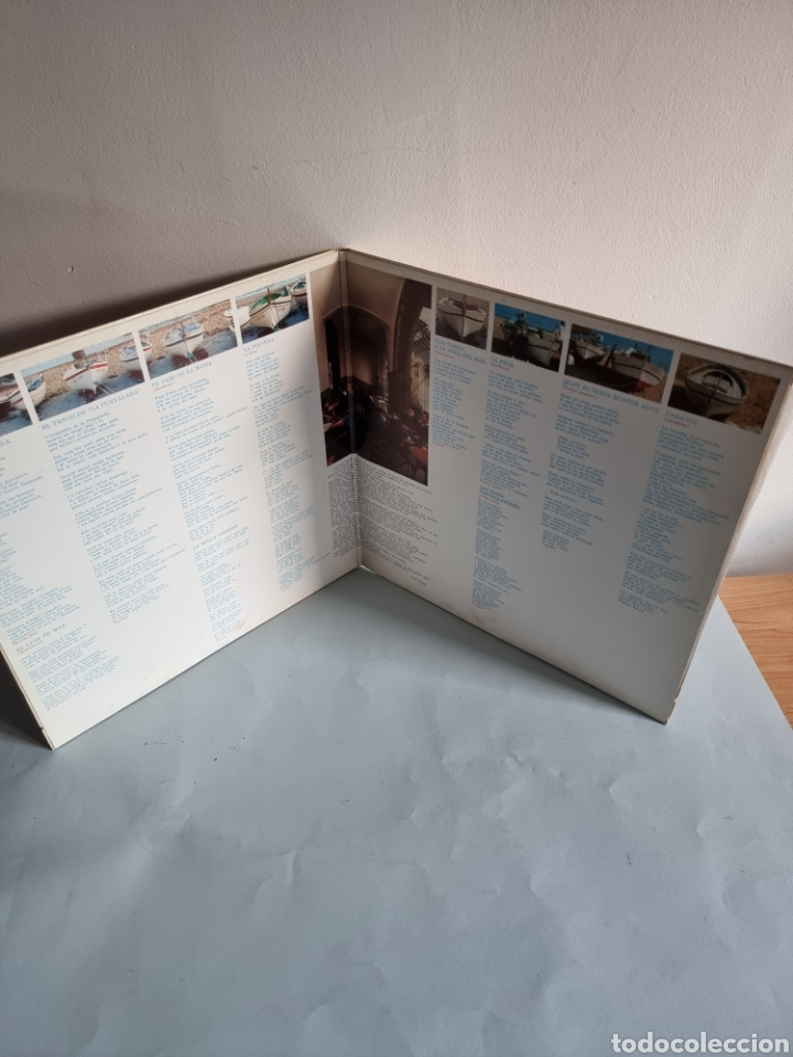 Discos de vinilo: 2 LPs de Sardanas, Habaneras y canciones populares - Foto 3 - 279674368