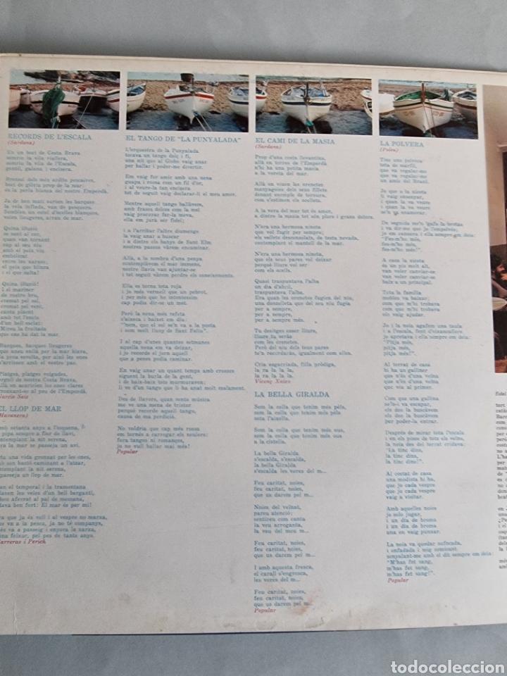 Discos de vinilo: 2 LPs de Sardanas, Habaneras y canciones populares - Foto 4 - 279674368
