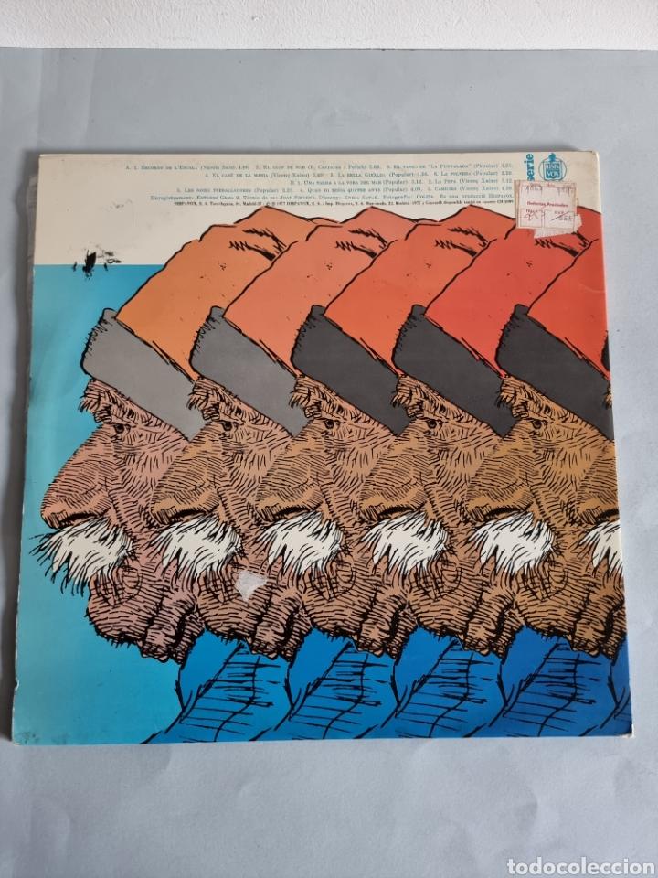 Discos de vinilo: 2 LPs de Sardanas, Habaneras y canciones populares - Foto 6 - 279674368