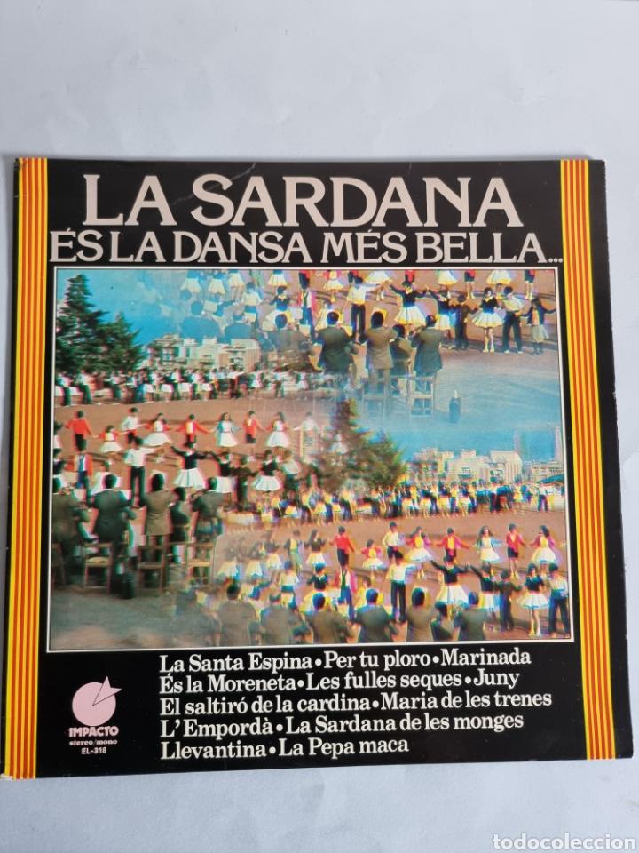 Discos de vinilo: 2 LPs de Sardanas, Habaneras y canciones populares - Foto 7 - 279674368