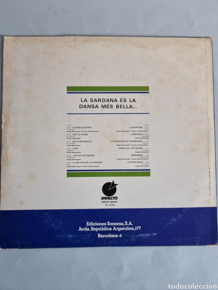 Discos de vinilo: 2 LPs de Sardanas, Habaneras y canciones populares - Foto 8 - 279674368