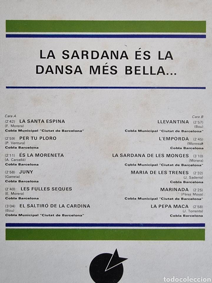 Discos de vinilo: 2 LPs de Sardanas, Habaneras y canciones populares - Foto 9 - 279674368
