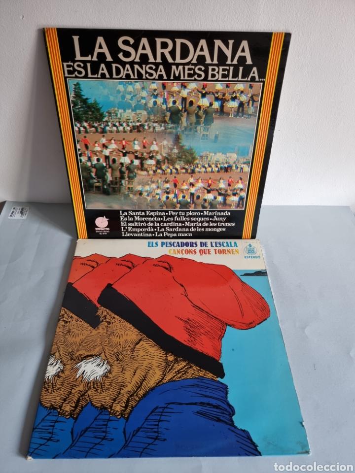 2 LP'S DE SARDANAS, HABANERAS Y CANCIONES POPULARES (Música - Discos - LP Vinilo - Otros Festivales de la Canción)