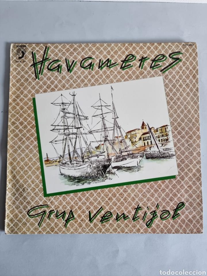 Discos de vinilo: 2 LPs de Habaneras, Grup Ventijol y Calella de Palafrugell - Foto 4 - 279741158