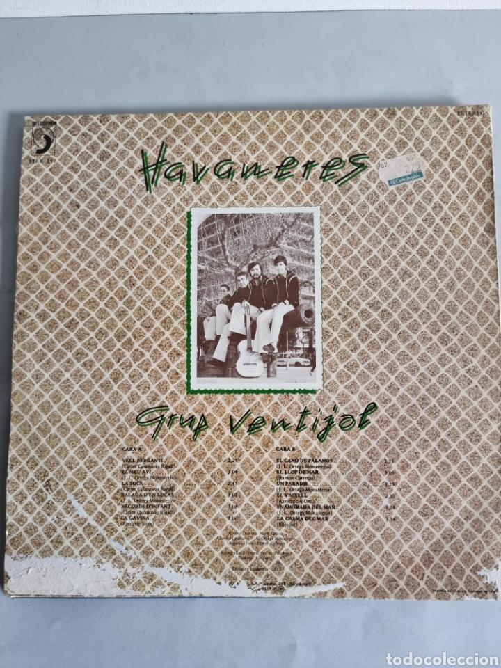 Discos de vinilo: 2 LPs de Habaneras, Grup Ventijol y Calella de Palafrugell - Foto 5 - 279741158