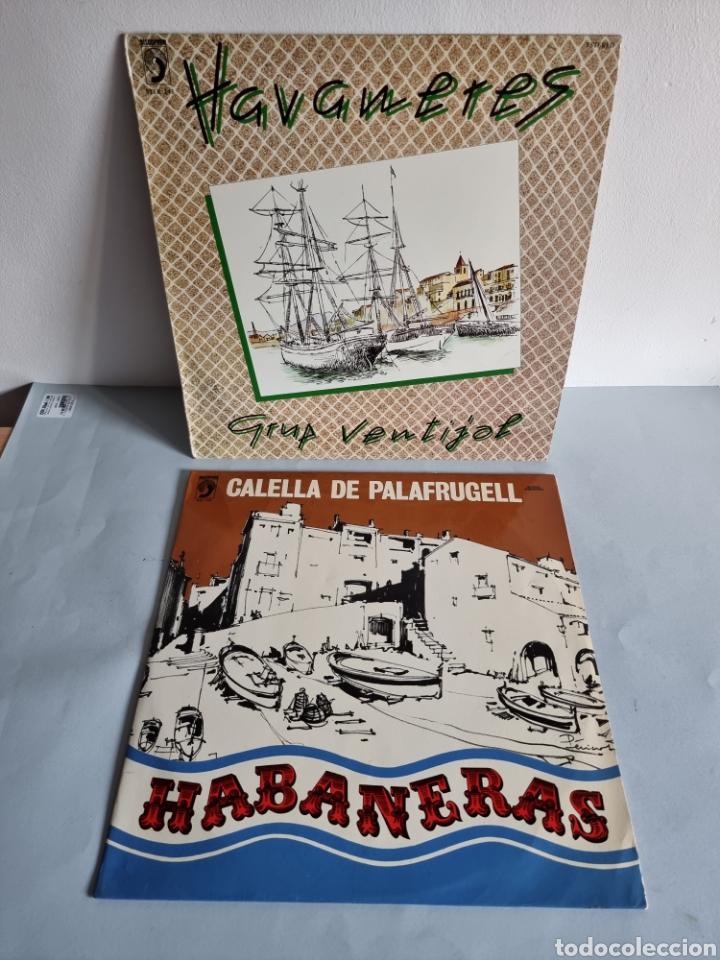 2 LP'S DE HABANERAS, GRUP VENTIJOL Y CALELLA DE PALAFRUGELL (Música - Discos - LP Vinilo - Otros Festivales de la Canción)