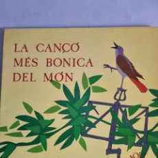 Discos de vinilo: LP LA CANÇO MES BONICA DEL MON.. Lote 279961938
