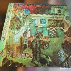 Discos de vinilo: GUALBERTO - VERICUETOS -, LP, LUZ DE INVIERNO + 4, AÑO 1976. Lote 280105868