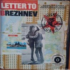 Discos de vinilo: LP - VARIOS - LETTER TO BREZHNEV (FROM THE MOTION PICTURE SOUNDTRACK) 1985 UK. Lote 280106528
