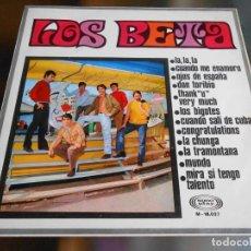 Discos de vinilo: BETA, LOS, LP, LA, LA, LA + 10, AÑO 1968 CON AUTOGRAFOS. Lote 280106938
