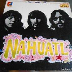 Discos de vinilo: NAHUATL, LP, MACHISMO + 8, AÑO 1975 HECHO EN MEXICO. Lote 280110423