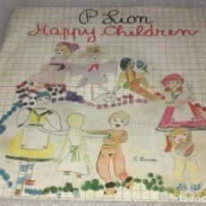 Discos de vinilo: SINGLE P. LION - HAPPY CHILDREN - CBS A3922 - PEDIDO MINIMO 7€. Lote 280112793