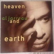 Discos de vinilo: DISCO VINILO LP HEAVEN AND EARTH - AL JARREAU -. Lote 280115838