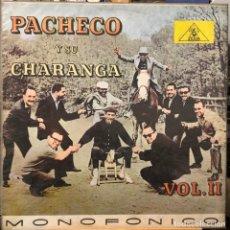 Discos de vinilo: LP COLOMBIANO DE PACHECO Y SU CHARANGA AÑO 1962. Lote 280120263